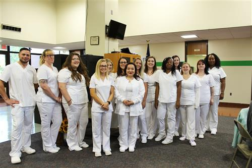 LPN Students posing for photo