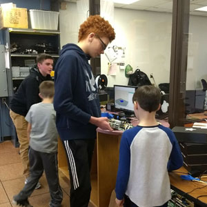 OCTEC Plays Host to Roy-Hart Students