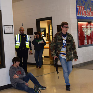 Active Shooter Drill in Medina CSD puts Staff, First Responders and Students to the Test